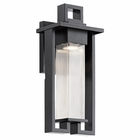 "Kichler Chlebo 16.5"" Outdoor Wall Lighting 49706BK"
