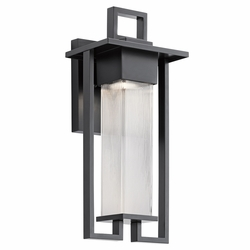 "Kichler Chlebo 21.25"" Outdoor Wall Sconce 49707BK"