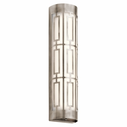 "Kichler Empire LED Pewter 20"" Outdoor Wall Lighting 43879CLPLED"