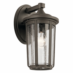 "Kichler Fairfield 14.5"" Outdoor Wall Sconce 49893OZ"