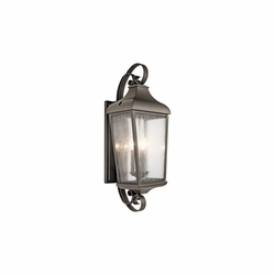 "Kichler Forestdale 30.75"" Outdoor Wall Lamp 49738OZ"