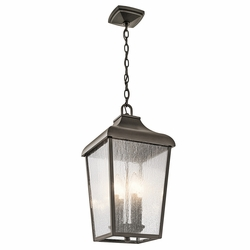 Kichler Forestdale Outdoor Hanging Light Fixture 49740OZ