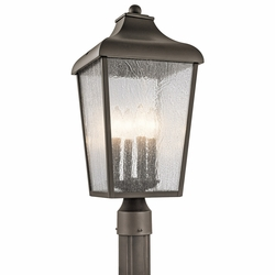 Kichler Forestdale Outdoor Post Light 49739OZ