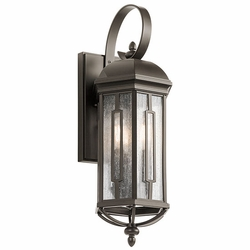 "Kichler Galemore 21.75"" Outdoor Wall Mounted Light - Bronze 49710OZ"