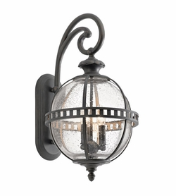 "Kichler Halleron 22.75"" Exterior Wall Light - Londonderry 49601LD"