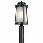 Kichler Harbor Bay Outdoor Lighting Post Lamp 49920BK