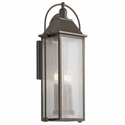 "Kichler Harbor Row 28.75"" Outdoor Wall Lantern - Bronze 49716OZ"