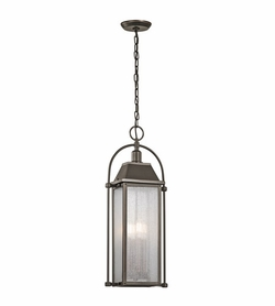 Kichler Harbor Row Outdoor Hanging Lighting Fixture - Bronze 49718OZ