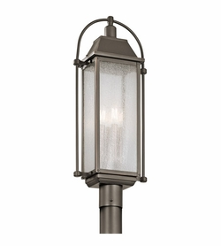 Kichler Harbor Row Post Light Fixture - Bronze 49717OZ