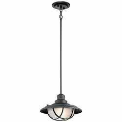 Kichler Harvest Ridge Outdoor Hanging Light - Black 49695BKT