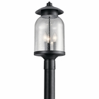 Kichler Hugo Outdoor Post Lighting Fixture 49885DBK