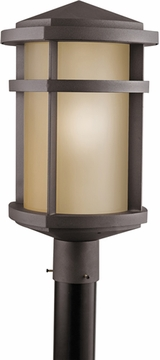 "Kichler Lantana 19.5"" Outdoor Post Lamp - Bronze 9967AZ"