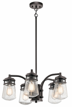 Kichler Lyndon Outdoor Chandelier - Bronze 49498AZ