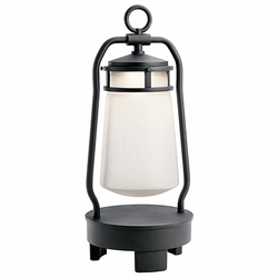 Kichler Lyndon LED Outdoor Post Lantern 49500BKTLED