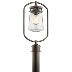 Kichler Lyndon Outdoor Post Lantern - Bronze 49497AZ
