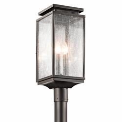 Kichler Manningham Outdoor Post Lantern - Bronze 49388OZ