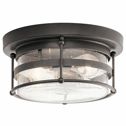 Kichler Mill Lane Outdoor Ceiling Light Fixture 49965AVI
