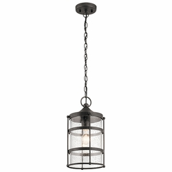 Kichler Mill Lane Outdoor Pendant Lighting 49964AVI