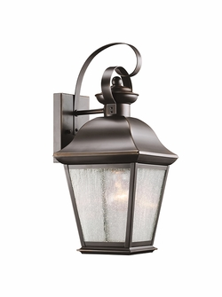 "Kichler Mount Vernon 16.75"" Exterior Wall Lighting - Bronze 9708OZ"