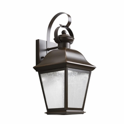 "Kichler Mount Vernon 16.75"" LED Outdoor Wall Lamp - Bronze 9708OZLED"