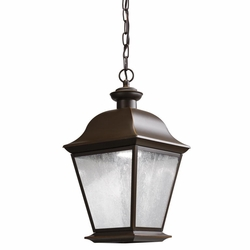Kichler Mount Vernon LED Outdoor Hanging Light - Bronze 9809OZLED