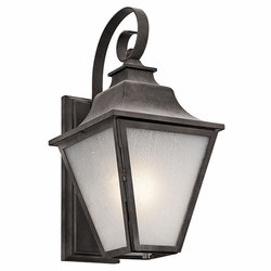 "Kichler Northview 17.25"" Exterior Wall Lantern - Traditional 49701WZC"