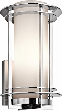 """Kichler Pacific Edge 16"""" Outdoor Wall Sconce - Stainless Steel 49346 PSS316"""