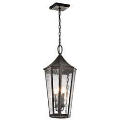 Kichler Rochdale Outdoor Hanging Light - Bronze 49517OZ