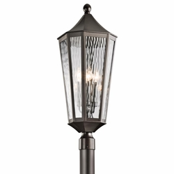 Kichler Rochdale Outdoor Post Lighting Fixture - Bronze 49516OZ