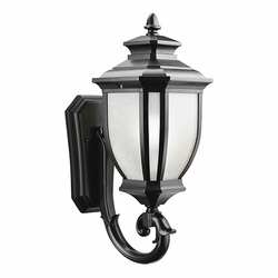 "Kichler Salisbury 19.25"" Outdoor Wall Mount - Black 9041BK"