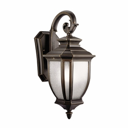 "Kichler Salisbury 19.5"" Outdoor Lighting Sconce - Bronze 9040RZ"