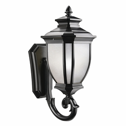 "Kichler Salisbury 29"" Outdoor Wall Lighting - Black 9043BK"