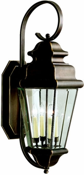 "Kichler Savannah Estates 35"" Outdoor Wall Lantern - Bronze 9631OZ"