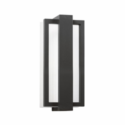 "Kichler Sedo 12.25"" LED Exterior Wall Lighting - Black 49492SBK"