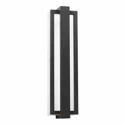 "Kichler Sedo 24.25"" LED Outdoor Wall Lighting Fixture - Black 49435SBK"