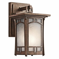 "Kichler Soria 10.25"" Exterior Wall Lighting - Bronze 49449AGZ"