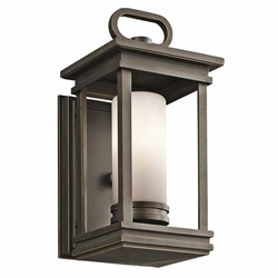 "Kichler South Hope 11.75"" Outdoor Wall Sconce Lighting - Bronze 49474RZ"