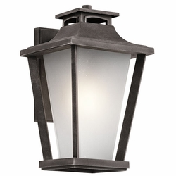 "Kichler Sumner Court 15"" Outdoor Wall Sconce - Traditional 49661WZC"