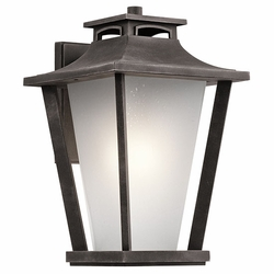 "Kichler Sumner Court 18.25"" Outdoor Wall Sconce Lighting - Traditional 49662WZC"