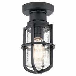 Kichler Suri Outdoor Ceiling Light - Black 49861BKT