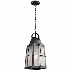 Kichler Tolerand Outdoor Pendant Light - Black 49556BKT