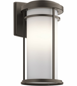 "Kichler Toman 20"" LED Exterior Wall Sconce 49688OZL16"