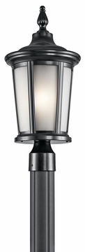 Kichler Turlee Outdoor Post Light 49657BK