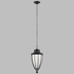 Kichler Wakefield LED Outdoor Hanging Lighting 49759BKTLED