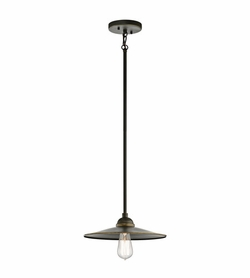 Kichler Westington Bronze Outdoor Pendant Light Fixture - Nautical 49587OZ