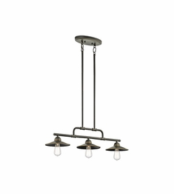 Kichler Westington Nautical Outdoor Chandelier - Bronze 49588OZ