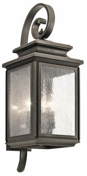"Kichler Wiscombe Park 26.25"" Exterior Wall Sconce 49503OZ"
