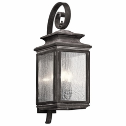 "Kichler Wiscombe Park 26.25"" Outdoor Wall Sconce - 49503WZC"