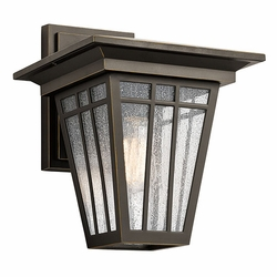 "Kichler Woodhollow Lane 13"" Outdoor Wall Sconce - Bronze 49676OZ"