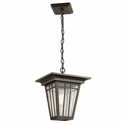 Kichler Woodhollow Lane Outdoor Pendant - Bronze 49678OZ